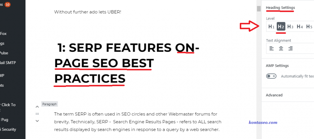 Heading Tags SEO Best Practices