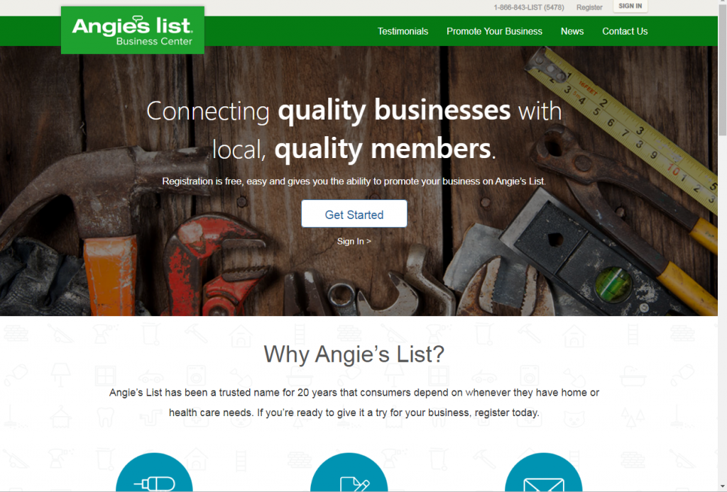 free places to market your business online angie list