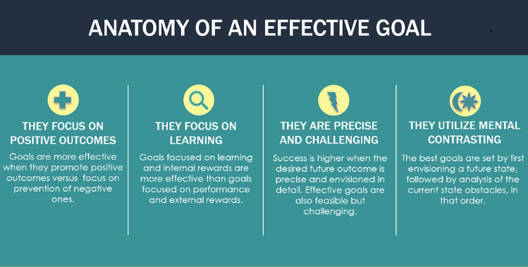 the features of an effective goal