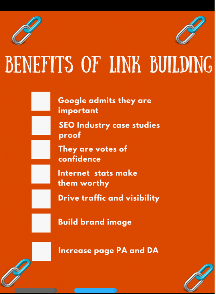 the benefits of link building