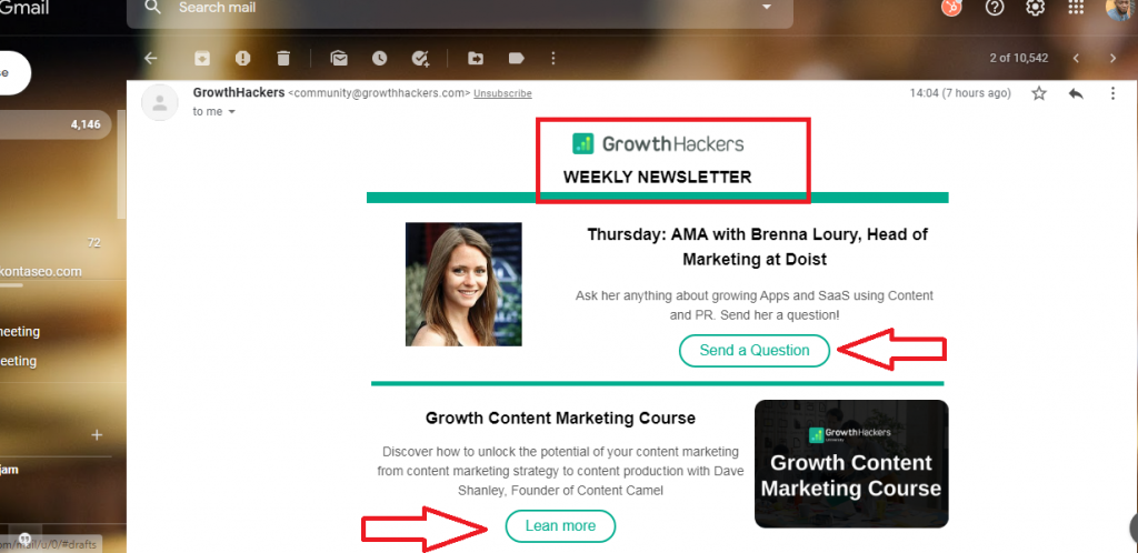 email newsletter to foster engagement