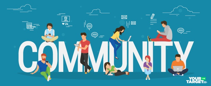 Use email & social media to build a community to promote your business online for free